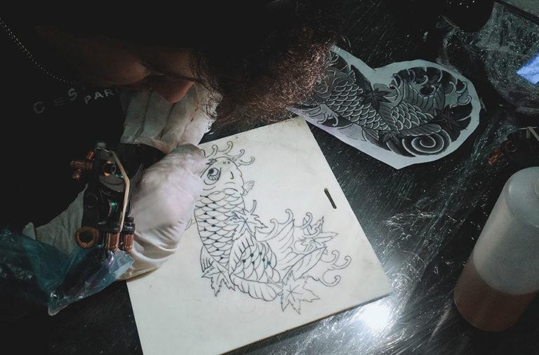 apprenez tatouage