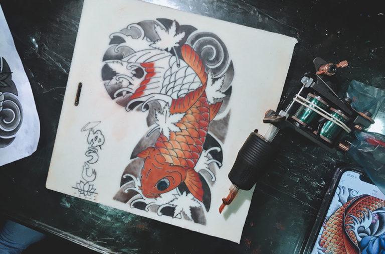tatoueur professionnel